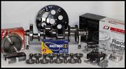 Chevy 400 Assembly Scat Crank 6 Rods Wiseco -12.5cc Dh 4.125 Pistons 400-mj