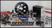 Sbc Chevy 427 Assembly Scat And Wiseco -8cc Dh. 4.125 Pistons 2pc Rms-350 Mains