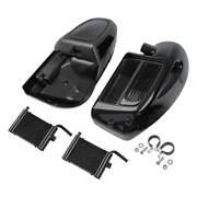 Lower Vented Fairing Radiators Cooler For Harley Road King 14-up Water-cooled