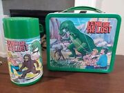 1975 Land Of The Lost Aladdin Metal Lunchbox With Thermos