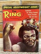 The Ring Boxing Vintage Magazine George Foreman May 1973 Mint Unread
