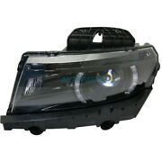 New Left Hid Headlight Assembly Fits 2014-2015 Chevrolet Camaro Gm2502392