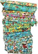 Indian Cotton Frida Kahlo Print Dress Making Fabric Ethnic Fabric By The Yard