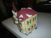 Rare Holiday Time Victorian House Vintage Village