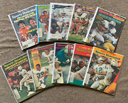 Lot Of 10 Different Miami Dolphins Sports Illustrated Complete Magazines Ex