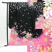 Kimono Celek Furisode Recycling Coming-of-age Ceremony Only Classical Silk