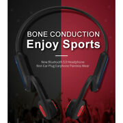 A9 Bone Conduction Headphones Bluetooth 5.0 Open Ear For Cycling Sports Ip56