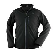 Prosmart Menand039s Heated Waterproof Jacket With 12volt Battery Pack