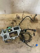 2002 Yamaha 90tlra 90hp Outboard Stator And Wire Harness With Trim Relay Etc