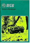 Mg Mgb Roadster Ghn5 And Gt Coupe Ghd5 Orig. 1980 Owners Instruction Handbook