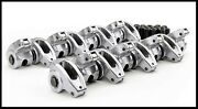 Sbc Chevy Comp Cams High Energy Aluminum Roller Rockers 1.6 3/8's 17002-16