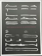 Atlas Sound San Francisco 2010 Poster Sign Number Jason Munn The Small Stakes