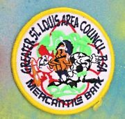 Boy Scout Bsa Greater St. Louis Area Council Mercantile Bank Day Patch New