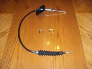 Pontiac Gto Lemans Tempest Firebird Trans Am T/a Floor Shifter Cable And Clips