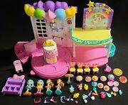 Party Popteenies Poptastic Party Playset Dolls 48 Pieces No Confetti
