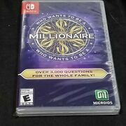 Who Wants To Be A Millionaire Nintendo Switch Brand New Factory Sealed Tv Show