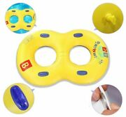 Inflatable Swimming Ring Rubber Ring For Beach Party Kids Adult Pool Floats