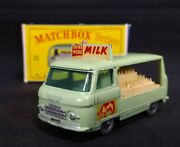 Matchbox Lesney No.21c Commer Milk Float In Very Nice Box Cow Decals