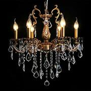 Crystal Chandeliers Contemporary Chandelier 6 Lights Island Lighting L6s