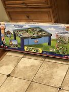 Thomas And Friends Wooden Railway Grow With Me Play Table Brand New