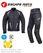 Menand039s Riding Motorbike Suit Waterproof With Amour