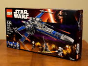 Lego Star Wars 75149 Blue X-wing Resistance Fighter - New And Factory Sealed