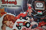 1962 Triang Toy Catalogue Copy From Archive Original