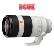 Sony Fe 100-400mm F/4.5-5.6 Gm Oss Lens For E-mount With 3 Year Uk/eu Warranty