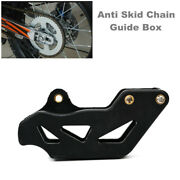 1pc Motorcycle Dirt Bikes Chain Guide Box Protective Anti Skid Chains Gear Cover