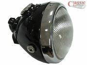 Lucas Style Head Lamp 6 1/2 Ideal For Flat Tracker Style Motorcycles