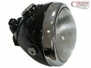 Lucas Style Head Lamp 6 1/2 Ideal For Vintage Motorcycles