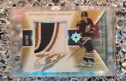 2005-06 Ud Ultimate Debut Threads Patch Alexander Ovechkin - 60/60 Rare Mint