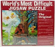 Legend Of The Deviland039s Dilemma Worlds Most Difficult Jigsaw Puzzle Double Sided