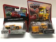 Disney Pixar Cars Diecast 155 Lot Of 2- Octane Gain 58 And Pitty