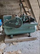 Honeywell 3 Phase Air Compressor W/ 2x 2hp Motor And Dryer