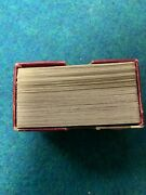 """Antique 1903 Flinch Card Game """"the Acme Of Parlor Games"""" W/instructions"""
