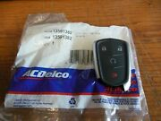 Acdelco 13591382 Key Fob / Transmitter For Some 19 And 20 Cadillac Xt4 Apps.