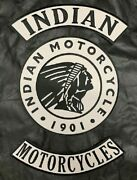Indian Motorcycle Jacket Vest Back Patch 3pc Full Set-iron On Sew On