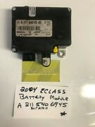 03-07 Mercedes Eclass And Cls Trunk Battery Load Control Module 2115406945