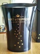 Moet And Chandon Novelty Goods Champagne Wine Cooler With Black Box