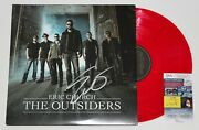 Eric Church Signed The Outsiders 2x Lp Vinyl Record Album Autographed +jsa Coa