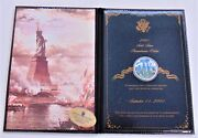 New United States Commemorative Gallery 2001 Solid Silver September 11 2001