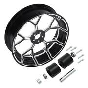 18and039and039x5.5and039and039 Cnc Aluminum Rear Wheel Rim Hubs Fit For Harley Road King Glide 09-21