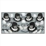 Top Hats And Tails New Years Eve Party Kit For 50 | White