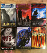 James Patterson Maximum Ride Series Book Lot Of 6 - First Editions, Hardback