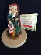 2002 La Befana Cookie Stamp A Rare Young Version From Santas Of The World