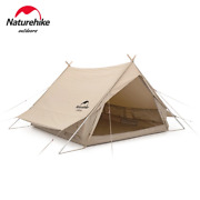 Outdoor Camping Tent 2 Person 4 Season A Shaped Canopy Waterproof Sun Shelter