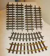 6 Pcs.--lgb--lionel--railway Express Agency Train G Scale Curve And Straight Track
