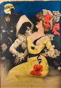 Poster Original French By Jules Alexander Granduumln Untitled Lithograph1890s