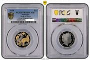 2014 Mob Of Roos Gold Plated 1 Proof Coin Pcgs Pr70dcam Top Pop 16/0
